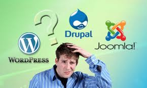wordpress joomla drupal